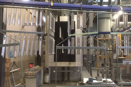 Doppelte Beschichtungskapazität bei peka metall AG