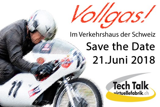 vfTechTalk 2018 - Save the Date